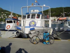 Le bateau de la Sirena